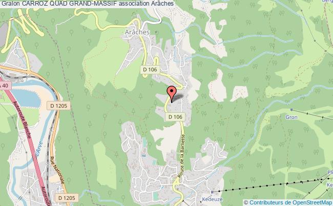 plan association Carroz Quad Grand-massif