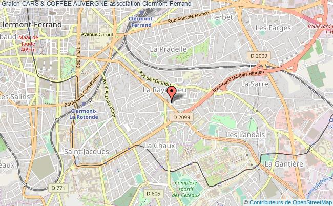plan association Cars & Coffee Auvergne