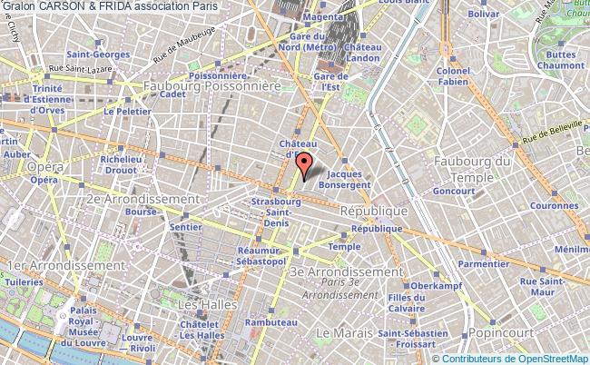 plan association Carson & Frida Paris