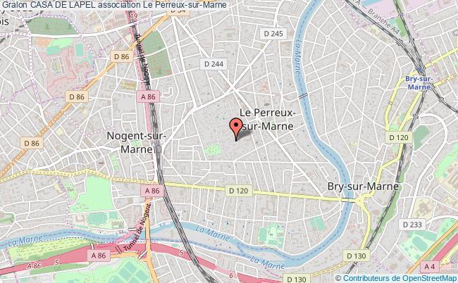 plan association Casa De Lapel Le    Perreux-sur-Marne
