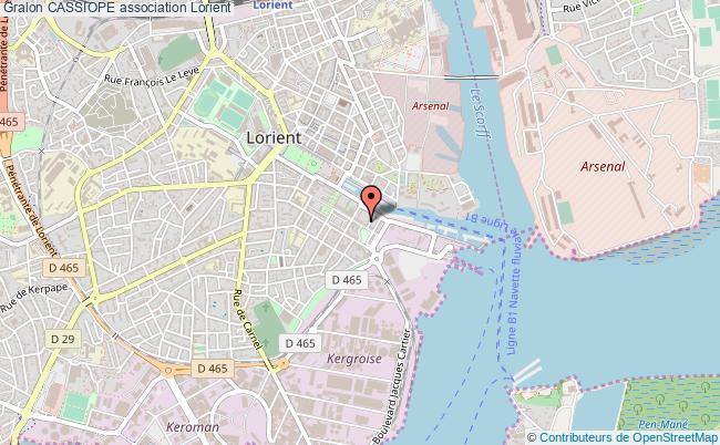 Plan de Lorient - Voyages - Cartes