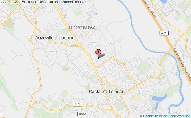 plan association CastacroÛte Castanet-Tolosan