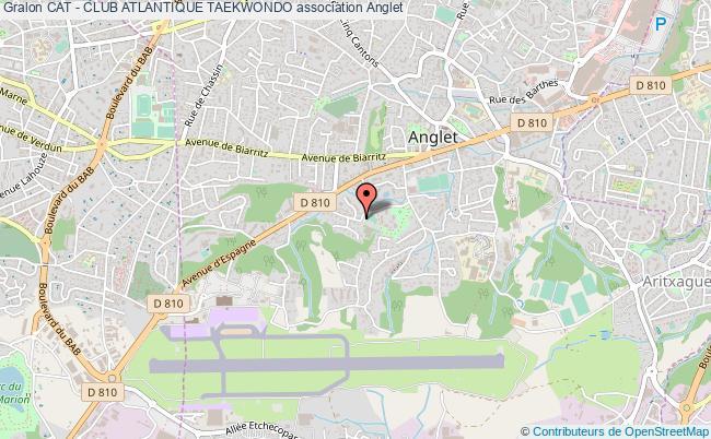 plan association Cat - Club Atlantique Taekwondo