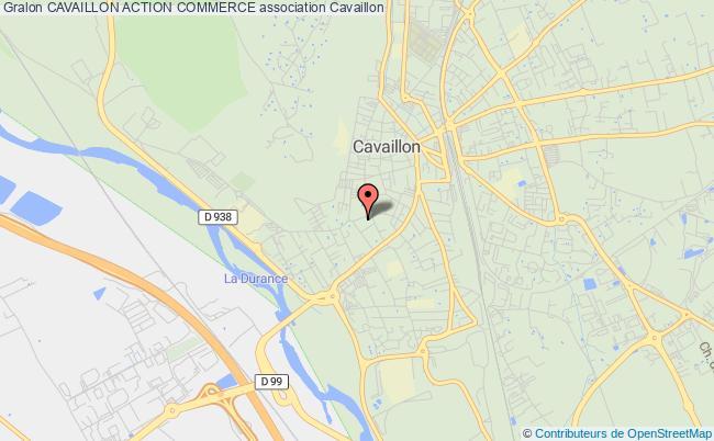 plan association Cavaillon Action Commerce