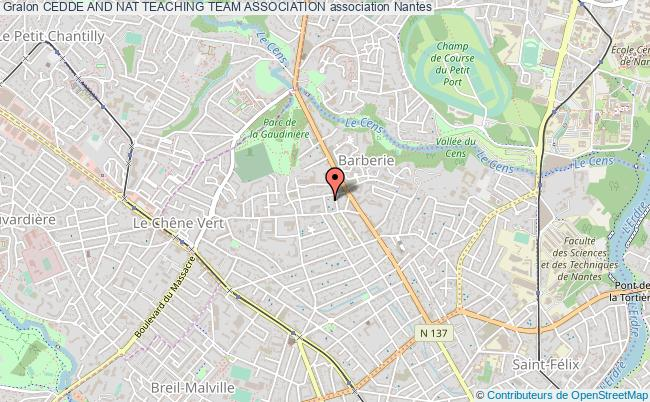 plan association Cedde And Nat Teaching Team Association