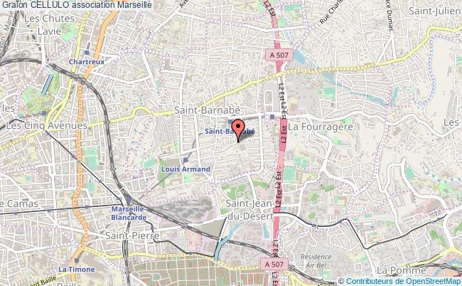 plan association Cellulo Marseille