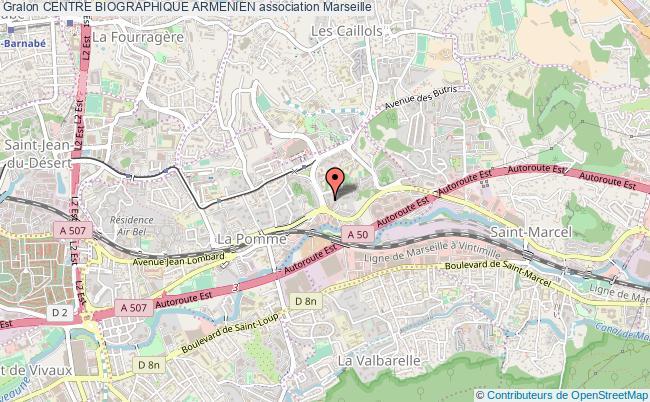 plan association Centre Biographique Armenien