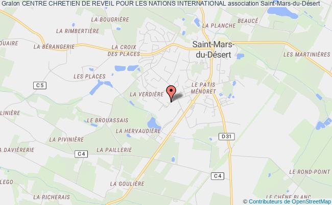 plan association Centre Chretien De Reveil Pour Les Nations International