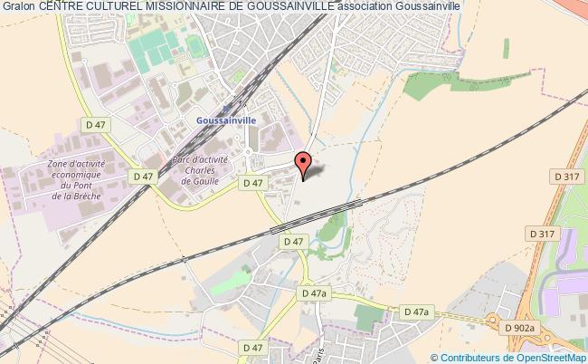 plan association Centre Culturel Missionnaire De Goussainville Goussainville