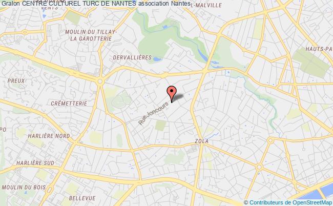 plan association Centre Culturel Turc De Nantes
