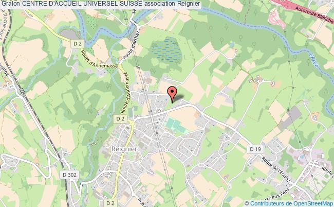 plan association Centre D'accueil Universel Suisse