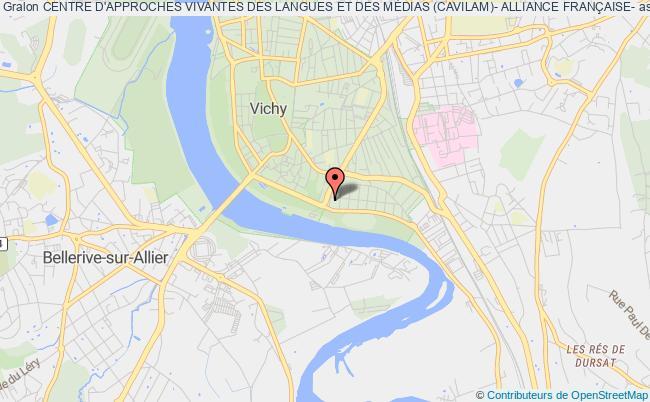plan association Centre D'approches Vivantes Des Langues Et Des MÉdias (cavilam)- Alliance FranÇaise-