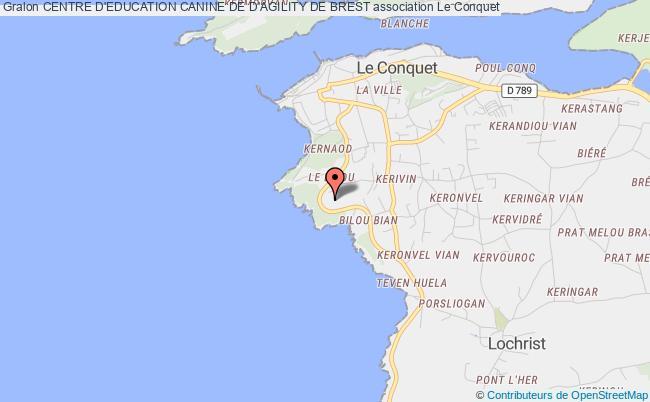plan association Centre D'education Canine De D'agility De Brest