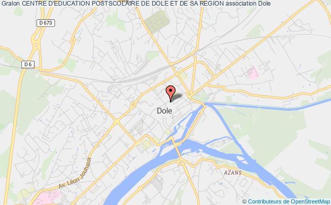 plan association Centre D'education Postscolaire De Dole Et De Sa Region Dole