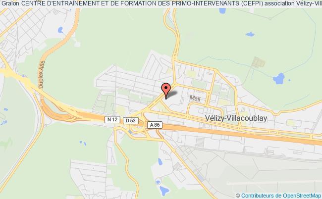 plan association Centre D'entraÎnement Et De Formation Des Primo-intervenants (cefpi)
