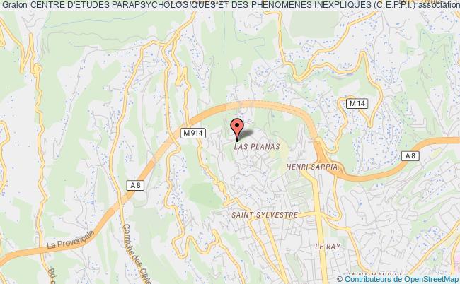 plan association Centre D'etudes Parapsychologiques Et Des Phenomenes Inexpliques (c.e.p.p.i.)