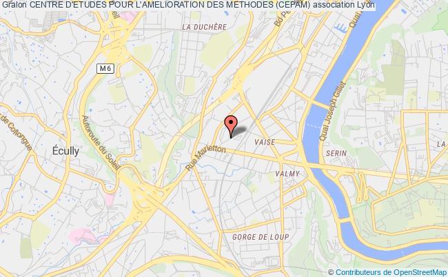 plan association Centre D'etudes Pour L'amelioration Des Methodes (cepam)