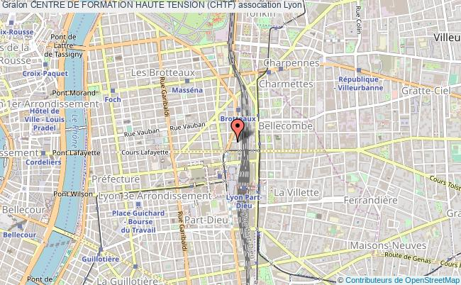 plan association Centre De Formation Haute Tension (chtf)