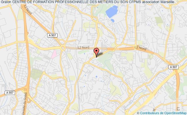 plan association Centre De Formation Professionnelle Des Metiers Du Son Cfpms