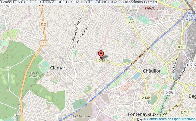 plan association Centre De Gestion Agree Des Hauts -de -seine (cga 92)