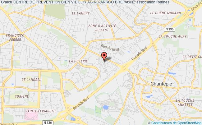 plan association Centre De Prevention Bien Vieillir Agirc-arrco Bretagne Rennes