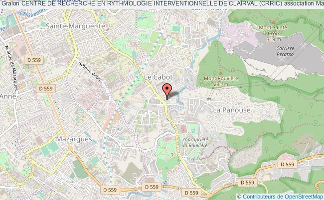 plan association Centre De Recherche En Rythmologie Interventionnelle De Clairval (crric) Marseille