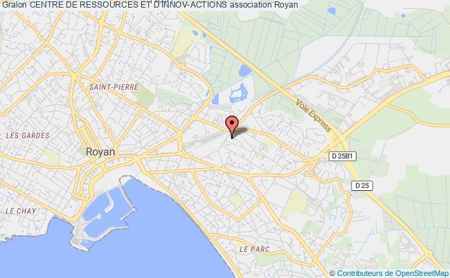 plan association Centre De Ressources Et D'innov-actions Royan