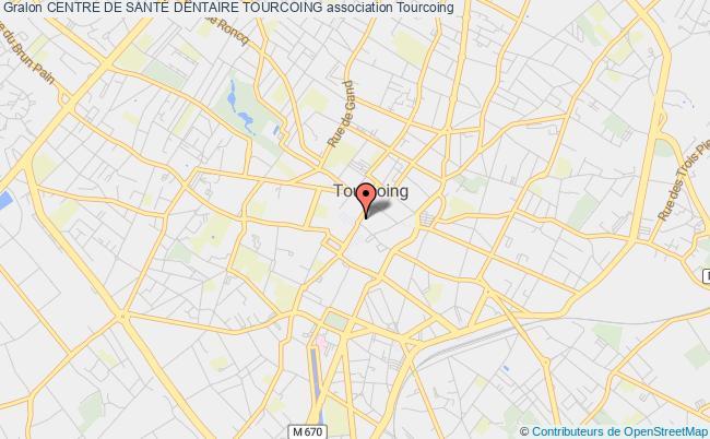 plan association Centre De SantÉ Dentaire Tourcoing