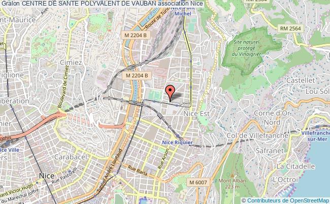 plan association Centre De Sante Polyvalent De Vauban