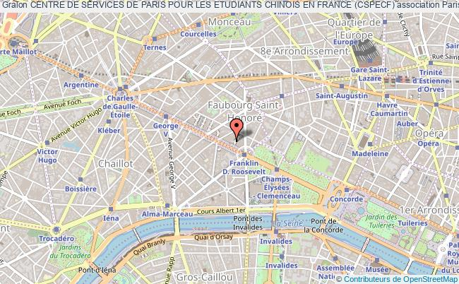 plan association Centre De Services De Paris Pour Les Etudiants Chinois En France (cspecf)