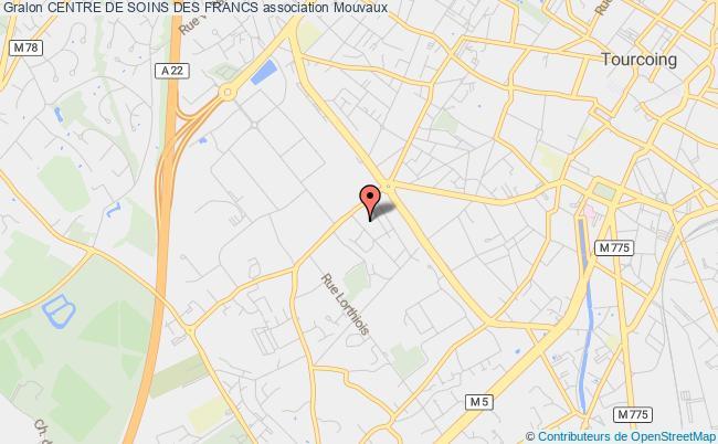 plan association Centre De Soins Des Francs Mouvaux