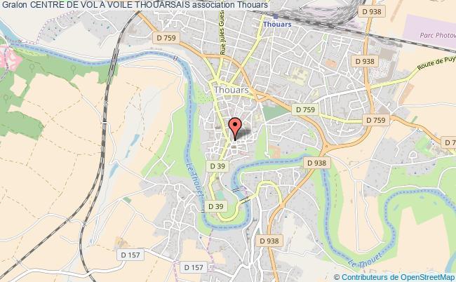 plan association Centre De Vol A Voile Thouarsais Thouars