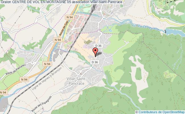 plan association Centre De Vol En Montagne 05