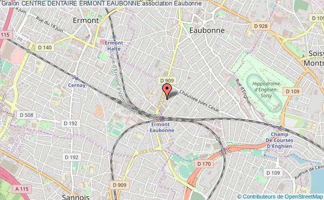plan association Centre Dentaire Ermont Eaubonne