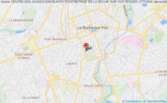 plan association Centre Des Jeunes Dirigeants D'entreprise De La Roche Sur Yon Vendee Littoral La Roche-sur-Yon