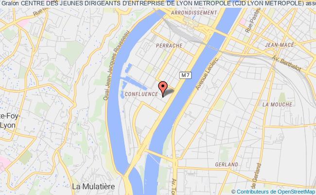 plan association Centre Des Jeunes Dirigeants D'entreprise De Lyon (cjd Lyon)
