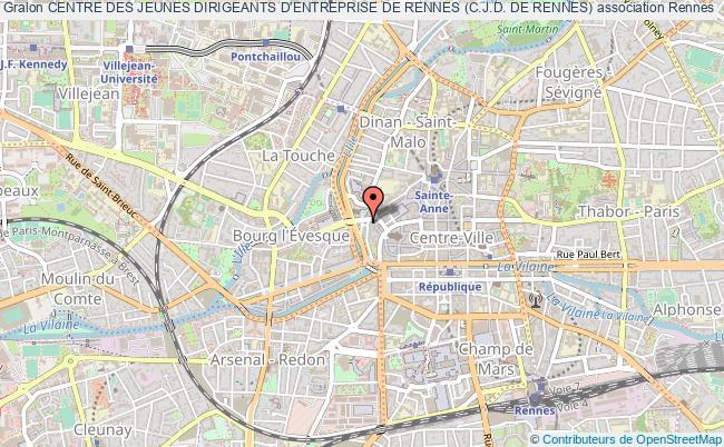 plan association Centre Des Jeunes Dirigeants D'entreprise De Rennes (c.j.d. De Rennes) ST GREGOIRE