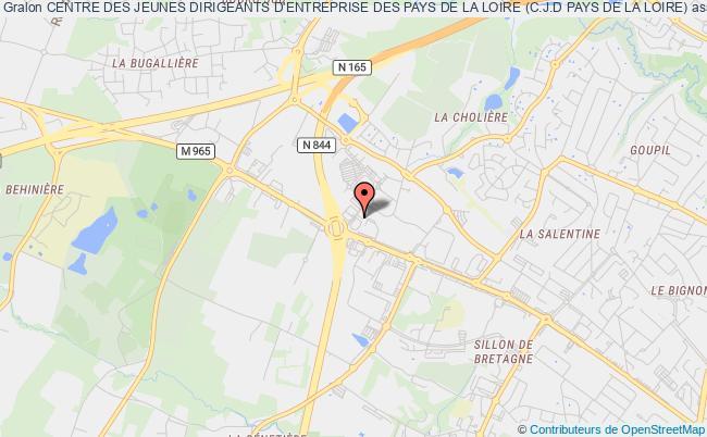 plan association Centre Des Jeunes Dirigeants D'entreprise Des Pays De La Loire (c.j.d Pays De La Loire)