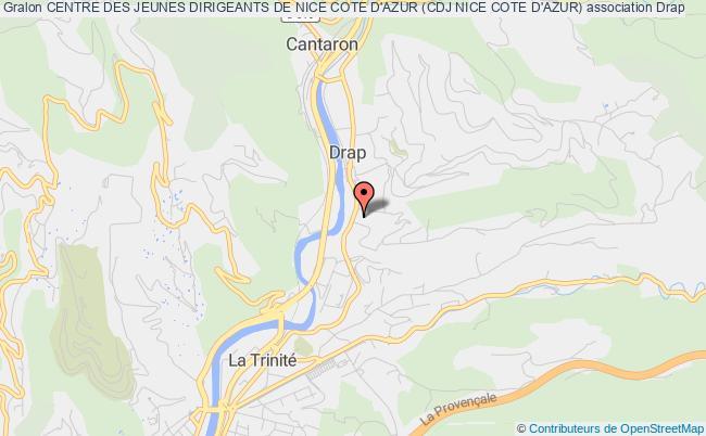 plan association Centre Des Jeunes Dirigeants De Nice Cote D'azur (cdj Nice Cote D'azur)