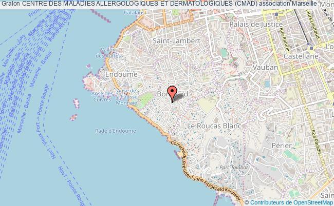 plan association Centre Des Maladies Allergologiques Et Dermatologiques (cmad)