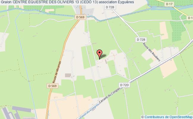 plan association Centre Équestre Des Oliviers 13 (cedo 13)