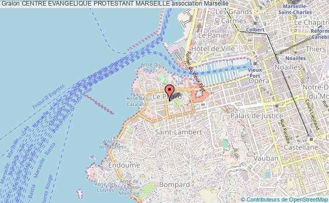 plan association Centre Evangelique Protestant Marseille