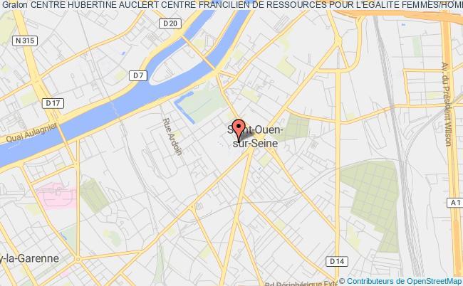 plan association Centre Hubertine Auclert Centre Francilien De Ressources Pour L'egalite Femmes/hommes