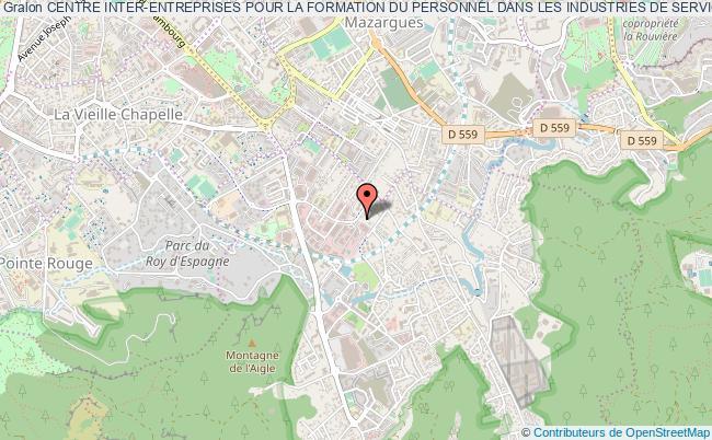 plan association Centre Inter-entreprises Pour La Formation Du Personnel Dans Les Industries De Service Formation Services Marseille