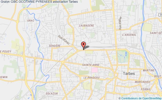 plan association Centre Interinstitutionnel De Bilan De Competences Sud Midi-pyrenees (cibc Sud Midi-pyrenees) Tarbes