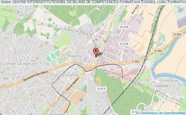 plan association Centre Interinstitutionnel De Bilans De Competences Formation Conseil (cibc Formation Conseil)