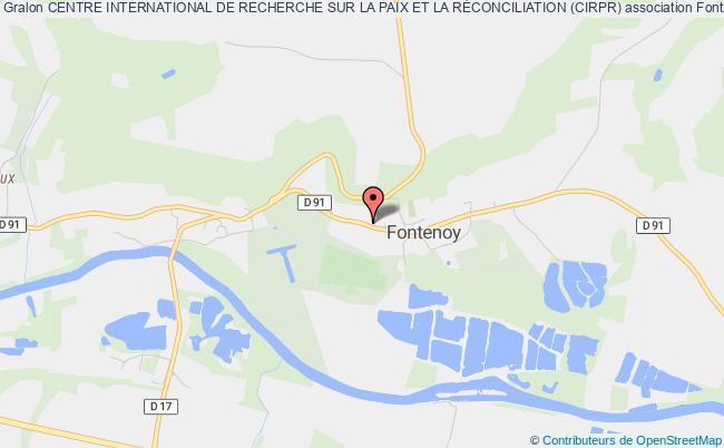 plan association Centre International De Recherche Sur La Paix Et La RÉconciliation (cirpr) Osny
