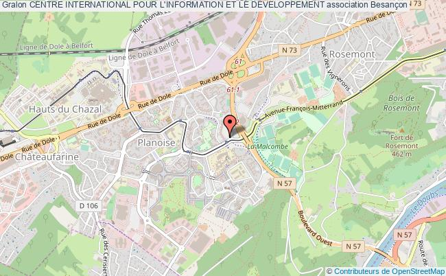 plan association Centre International Pour L'information Et Le DÉveloppement
