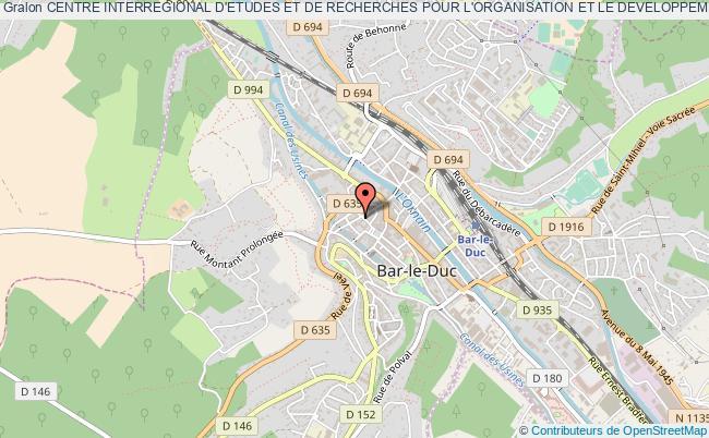 plan association Centre Interregional D'etudes Et De Recherches Pour L'organisation Et Le Developpement Des Entreprises - (c.i.e.r.o.d.e.) -