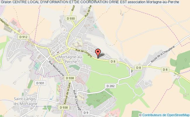 plan association Centre Local D'information Et De Coordination Orne Est